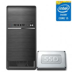 Computador PC CPU Desktop Intel Core i5 8GB SSD 240GB CorPC Fast